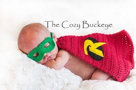 Baby Robin Halloween Costume Instant Download Crochet Pattern Baby Robin Cape U0026 Felt Mask