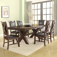 dining room lovely grethell 7 piece dining room set espresso 7