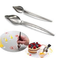 fourniture de cuisine gadgets de cuisine de cuisson en acier inoxydable cuillère crème