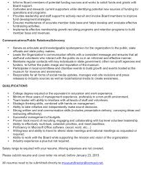 executive director resume cover letter foundation executive director cover letter