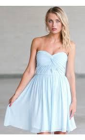 light blue bridesmaid dresses sky blue bridesmaid dress baby blue strapless bridesmaid