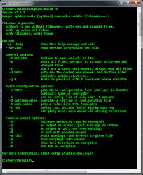 html themes sphinx 1 setup sphinx documentation on windows how to