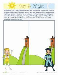 heroes of the day and night worksheet education com