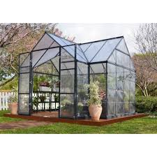 8 X 12 Greenhouse Kits Victory Orangery 10 Ft X 12 Ft Garden Chalet Greenhouse Gardens