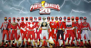 watch morphing process red power ranger