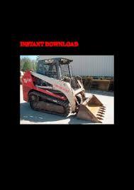 takeuchi tl130 crawler loader service repair factory manual instant d u2026