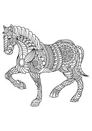 coloring sheets of a horse animal coloring pages pdf adult coloring dog cat and coloring books