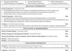 Sample Dental Resume by Sample Resume Format Haadyaooverbayresort Com