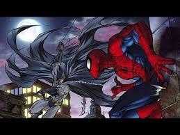 batman spider man