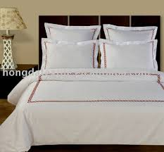 100 cotton luxury hotel embroidered sheet set bed linen buy