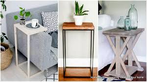 unique end table ideas 43 ingeniously creative diy end table for your home homesthetics