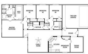 single story 4 bedroom house plans fancy ideas 4 to 5 bedroom house plans 14 single story home act