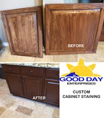 Kitchen Cabinet Restaining by Kitchens Designing U0026 Renovating With Quality In San Antonio