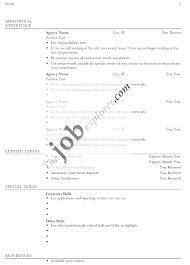 Resume Templates Word Free Download Resume Format Pdf Resume Format For Job Application Examples 2017