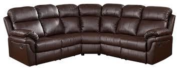 milton greens stars frankfurt sectional sofa with 2 recliners