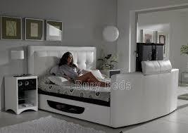 Tv Bed Frames White Bowburn Bed Frame Bury Beds Tierra Este 67986