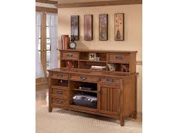 cross island desk w storage signature design by ashley home office cross island storage desk