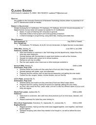 Objective Line On Resume Cook Resume General Resume Cook Resumes 9 Free Word Pdf