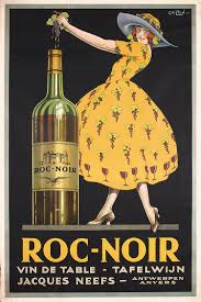 pink martini poster beautiful rare original 1920s wine advertising poster part of our