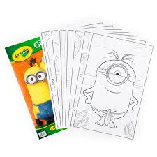 amazon crayola giant color pages minions toys u0026 games