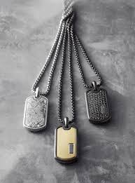 dog tag mens necklace images David yurman dog tags hey handsome pinterest jewel bling jpg