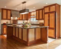 Wooden Kitchen Cabinet by Two Tone Kitchen Cabinets Stylish Design Two Tone Orginally On