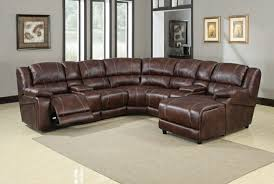 Sectional Sofa With Storage Chaise 7 Piece Sectional Sofa Faux Leather Reclining Sectional