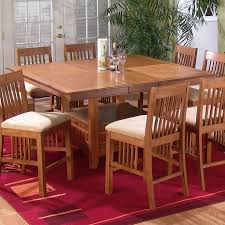 counter height table sets with 8 chairs counter height table with 8 chairs danville counter height table 8