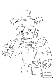 fnaf mangle coloring pages five nights at freddys xyzcolor4kids