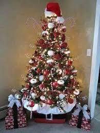 decorating with mesh ribbon christmas trees christmas tree