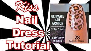 kiss ultimate nail fashion strips tutorial influenster love