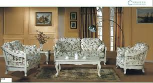 Wooden Simple Sofa Set Images 2014 Simple Design Pink Flower Fabric Sofa Set Was Made By