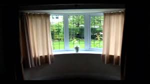 How To Put Curtains On Bay Windows Tracks Direct For Bespoke Made To Measure Bay Window Curtain Poles