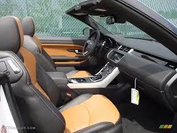 vintage land rover interior ebony vintage tan interior 2017 land rover range rover evoque