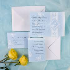 scroll wedding invitations printable butterfly and scroll wedding invitation ewi202 as low as