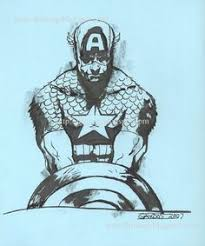 ww2 captain america sketch by alex ross superheroes pinterest