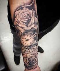 download tattoo sleeve roses men danielhuscroft com
