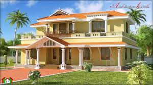 Best Home Design Kerala by Kerala Style House Plans 2500 Square Feet Youtube