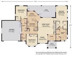 great room floor plans antigua signature floor plan nadeau stout custom homes house plans