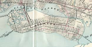 Berkeley Map Alameda California 1908 Old Map Alamedainfo