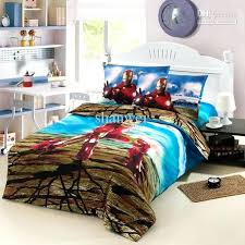 Amazon Duvet Sets Cool Iron Man Ironman Boys Cartoon Kid Duvet Cover Sheet Set