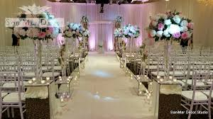 wedding backdrop of flowers venues