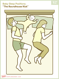Baby Kicking Meme - baby sleep positions the roundhouse kick how to be a dad