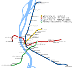 Redline Metro Map by Budapest Metro U2014 Map Lines Route Hours Tickets