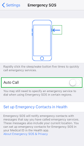 how to create an emergency contact card for your iphone ios iphone