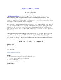 sample dancer cover letter haadyaooverbayresort com