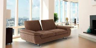 canapé design cuir canape design 3 places idra de nicoletti home tissu ou cuir vachette