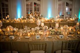 Gold Table Decorations Ivory And Gold Wedding Decorations 1476