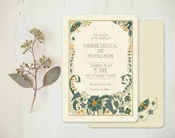 wordings art nouveau wedding invitation also art nouveau wedding