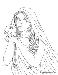 gaia the greek goddess of earth coloring pages hellokids com